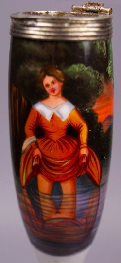 D0945- 0 Malerei Spiegelung im Wasser