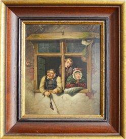 Der Wetterprophet, Gemälde nach Maron, D1531