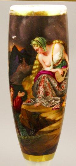 Carl Joseph Begas d.Ä. (1794 – 1854), Die Lureley, Porzellanmalerei, Pfeifenkopf, D1563
