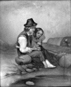 HPF 12 - Angelnder Zigeunerknabe, nach Hicks