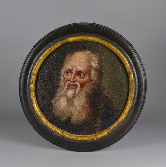 Barockgemälde, Mann mit Bart, D0053