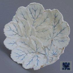 Buckauer Porzellanmanufaktur, Blattschale um 1842, D0905-175-00