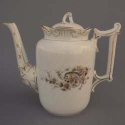 Buckauer Porzellanmanufaktur, Kaffeekanne, 1890-1897, D0753-199-13