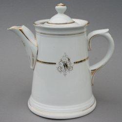Buckauer Porzellanmanufaktur, Kaffeekanne um 1900, D0706-108-23