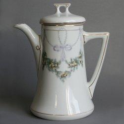 Buckauer Porzellanmanufaktur, Kaffeekanne um 1904, D0528-085-19