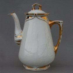 Buckauer Porzellanmanufaktur, Kaffeekanne um 1904, D0860-087-18