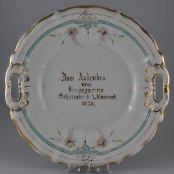 Buckauer Porzellanmanufaktur, Kuchenschale 1878, D0472-011-00