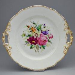 Buckauer Porzellanmanufaktur, Kuchenschale um 1878, D0581a-047-00