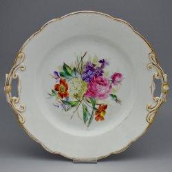 Buckauer Porzellanmanufaktur, Kuchenschale um 1878, D0589b-047-00