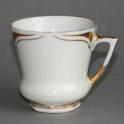 Buckauer Porzellanmanufaktur, Tasse und Untertasse um 1904, D0546-074-18