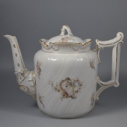 Buckauer Porzellanmanufaktur, Teekanne, 1890-1897, D0662-149-13