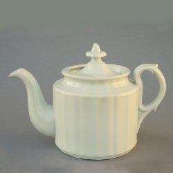 Buckauer Porzellanmanufaktur, Teekanne um 1900, D0702-165-Hotelporzellan