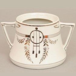 Buckauer Porzellanmanufaktur, Zuckerdose um 1904, D0475-058-19