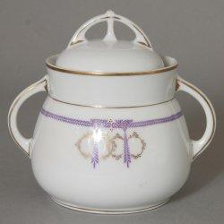 Buckauer Porzellanmanufaktur, Zuckerdose um 1907, D0532-020-20