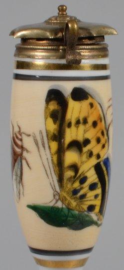 Farbige Insekten, Porzellanpfeifenkopf, D1970