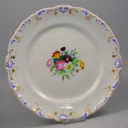 Buckauer Porzellanmanufaktur, Abendbrotteller um 1860, D0642-016-00