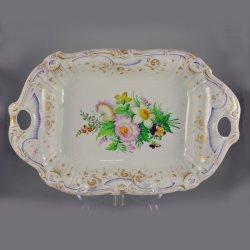 Buckauer Porzellanmanufaktur, Anbietschale um 1850, D0590-107-00