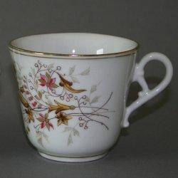 Buckauer Porzellanmanufaktur, Tasse und Untertasse um 1878, D0610-115-04