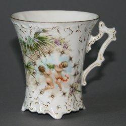 Buckauer Porzellanmanufaktur, Tasse und Untertasse, um 1897, D0593-071-14