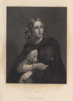 Carl Ferdinand Mayer (1798-1868), Stahlstich, Julie, nach Henning, A0082
