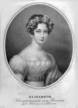 David Weiß (1775-1846), Punktierkupferstich, Elisabeth, nach Gebauer, D2034-1