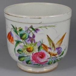 Buckauer Porzellanmanufaktur, Blumenübertopf um 1878, D0744-172-00
