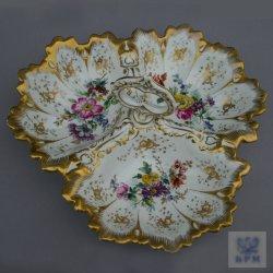 Buckauer Porzellanmanufaktur, Cabaret dreipassig um 1846, D0825-166-00