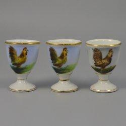 Buckauer Porzellanmanufaktur, Eierbecher um 1900, D0916-255-37