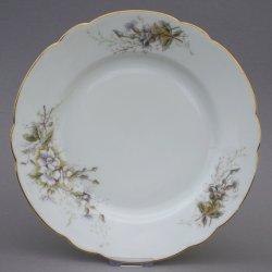 Buckauer Porzellanmanufaktur, Flache Teller 1890-1926, D0765-022-24