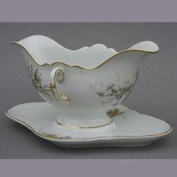 Buckauer Porzellanmanufaktur, Sauciere 1890-1926, D0774-128-24