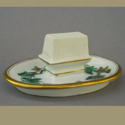 Buckauer Porzellanmanufaktur, Streichholzschachtel-Halter um 1880, D0746-197-00