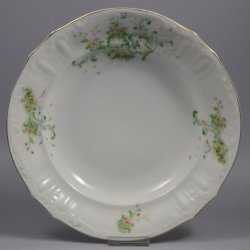 Buckauer Porzellanmanufaktur, Tiefe Teller um 1897, D0722-186-25