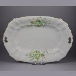 Buckauer Porzellanmanufaktur, Vorlegeplatte um 1897, D0725-048-25