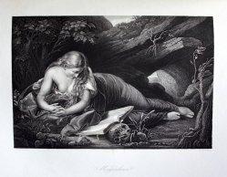 D J Poound, Stahlstich, Magdalena, nach Batoni, D1611-187