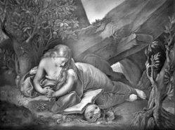 KPM 17 Maria Magdalena, nach Battoni, Blair 1134