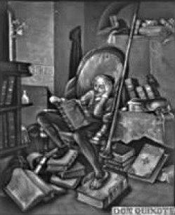 PPM 371 Don Quichotte, nach Schroedter, Lithophanie