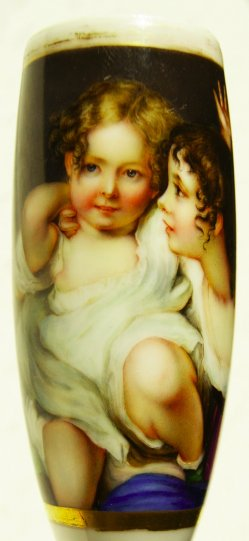 Sir Thomas Lawrence (1769-1830), Emily und Laura Calmady, Porzellanmalerei, Pfeifenkopf, M0001