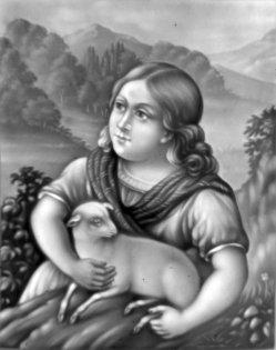 HPM 296 – Kind mit Schaf