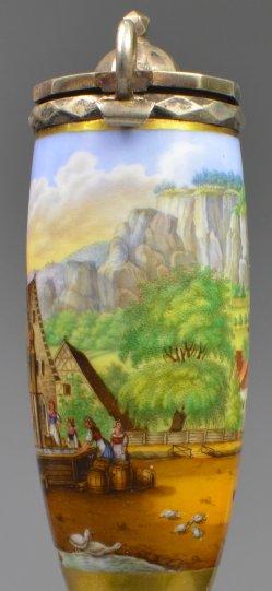 Muggendorf, Porzellanmalerei, Pfeifenkopf, D2068