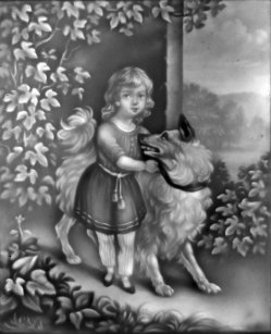 PPM 160 – Kind mit Hund A, sw