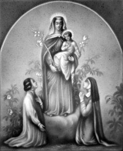 PPM 305 - Die Anbetung Maria, sw