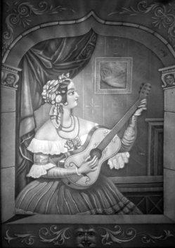 BPM 581 Gitarrespiel am Fenster