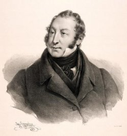 Henri Grevedon (1776-1860), Gioachino Antonio Rossini, Radierung, A0102