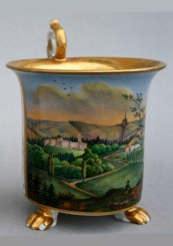 Kassel-Wilhelmshöhe, Porzellanmalerei, Tasse, D0810