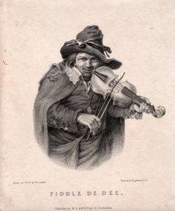 W. Loonard, Lithographie, Fiddle de Dee, D2093-2