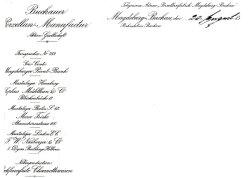 Buckauer Porzellanmanufaktur, 1904, Musterläger (Briefkopf)