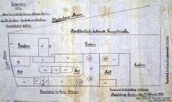 Buckauer Porzellanmanufaktur, 1904, Situationsplan, Privatbesitz Dauer