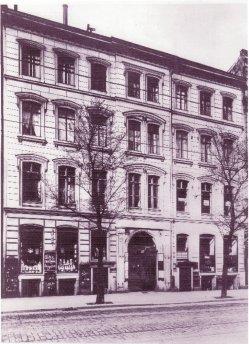 Buckauer Porzellanmanufaktur, 1912, Musterlager Berlin, Ritterstraße 34