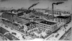 Buckauer Porzellanmanufaktur, um 1900, Coquistraße 2-3, D2142