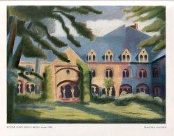 Franziska Wagner (1905-1986), Kloster Unser Lieben Frauen, Pastell, 1945